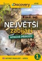 Největší zabijáci africké přírody 1 - papírová pošetka DVD