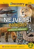 Největší zabijáci africké přírody 2 - papírová pošetka DVD