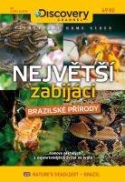 Největší zabijáci brazilské přírody - papírová pošetka DVD