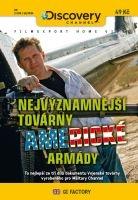Nejvýznamnější továrny americké armády - papírová pošetka DVD