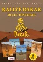 Rallye Dakar: 30 let historie (set 5 DVD) - papírové pošetky