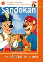 Sandokan 2 - papírová pošetka DVD