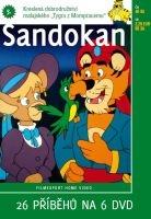 Sandokan 3 - papírová pošetka DVD