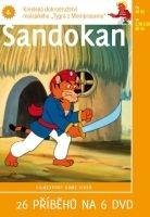 Sandokan 4 - papírová pošetka DVD