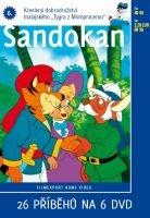 Sandokan 6 - papírová pošetka DVD
