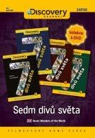 Sedm divů světa (set 4 DVD) - papírové pošetky