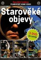 Starověké objevy - 3x DVD - papírové pošetky