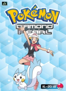 Pokémon - diamond and pearl 16. - 20. díl - DVD