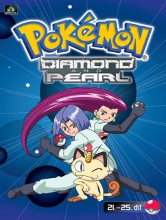 Pokémon - diamond and pearl 21. - 25. díl - DVD