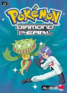 Pokémon - diamond and pearl 26. - 30. díl - DVD