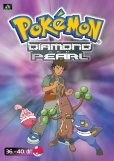 Pokémon - diamond and pearl 36. - 40. díl - DVD