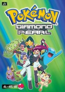 Pokémon - diamond and pearl 41. - 45. díl - DVD