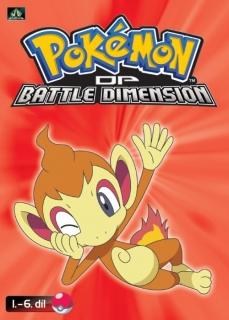 Pokémon : DP battle dimension 1. - 6. díl - DVD