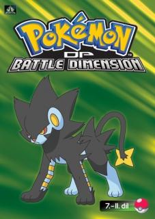 Pokémon : DP battle dimension 7. - 11. díl - DVD