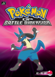 Pokémon : DP battle dimension 12. - 16. díl - DVD