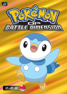 Pokémon : DP battle dimension 17. - 21. díl - DVD