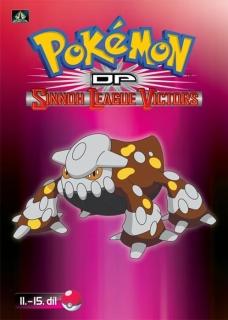 Pokémon : DP sinnoh league victors 11. - 15. díl - DVD