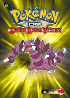 Pokémon : DP sinnoh league victors 31. - 34. díl - DVD