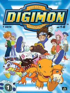 Digimon 1. série epizoda 01 - 06 - DVD