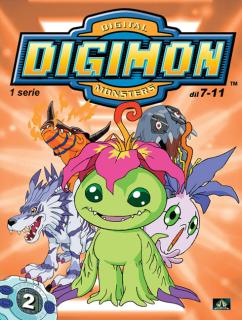 Digimon 1. série epizoda 07 - 11 - DVD