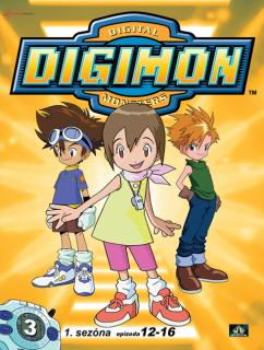 Digimon 1. série epizoda 12 - 16 - DVD