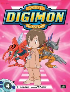 Digimon 1. série epizoda 17 - 22 - DVD