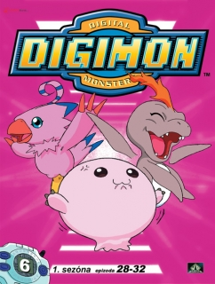 Digimon 1. série epizoda 28 - 32 - DVD