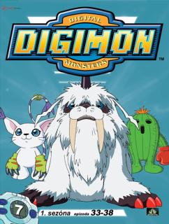 Digimon 1. série epizoda 33 - 38 - DVD