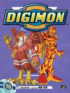 Digimon 1. série epizoda 49 - 54 - DVD