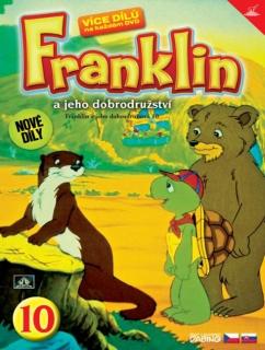 Franklin a jeho dobrodružství 10 ( plast ) DVD