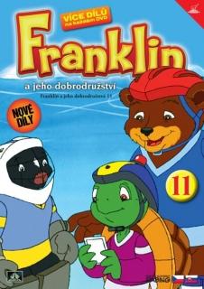 Franklin a jeho dobrodružství 11 ( plast ) DVD
