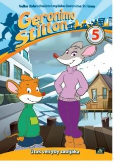 Myšák Geronimo Stilton 5 - DVD