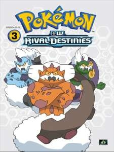Pokémon : BW rival destinies 11. - 15. díl - DVD