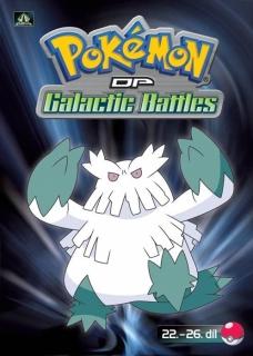 Pokémon : DP galactic battles 22.-26. díl - DVD