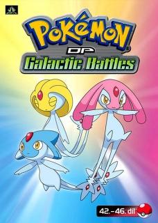 Pokémon : DP galactic battles 42.-46. díl - DVD