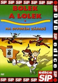 Bolek a Lolek na Divokém západě - DVD
