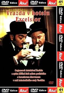 Vražda v hotelu Excelsior - DVD