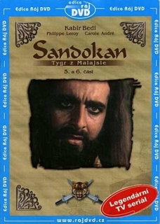 Sandokan tygr z Malajsie - 5. - 6. část - DVD