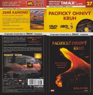IMAX - 27 - Pacifický ohnivý kruh - DVD
