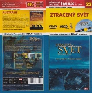 IMAX - 22 - Ztracený svět Rovnováha života - DVD