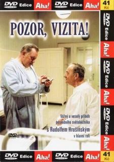 Pozor, vizita! - DVD