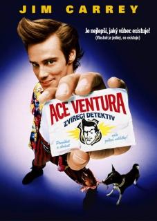 Ace Ventura: Zvířecí detektiv - DVD pošetka