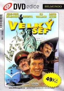 Velký šéf - DVD