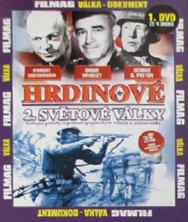 Hrdinové 2. světové války 1 - DVD