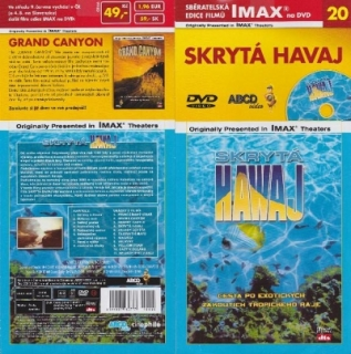 IMAX - 20 - Skrytá Havaj - DVD