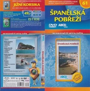 Nejkrásnější místa světa 61 - Španělská pobřeží - DVD