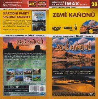 IMAX - 28 - Země kaňonů - DVD