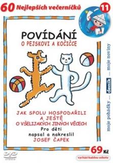 60 večerníčků - 11 - Povídání o pejskovi a kočičce - DVD