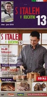 S Italem v kuchyni 13 - DVD