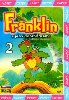 Franklin a jeho dobrodružství 2 ( bazarové zboží ) - DVD